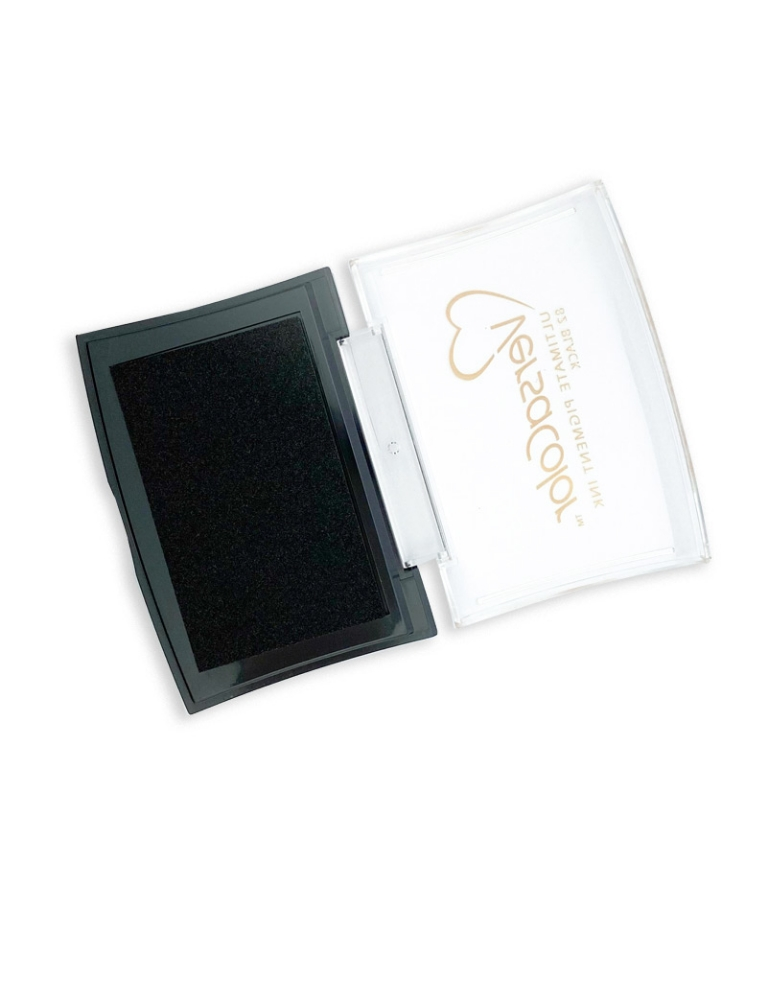 Stempelkissen Versa Color in black/schwarz, ca. 70 x 40 mm
