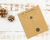 """Weihnachtsstempel mit Adresse, Motiv """"Weihnachtsgruß"""", personalisiert"""