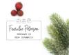 "Weihnachts-Stempel ""Geschenk"", Adressstempel, ca. 55 x 40  mm"