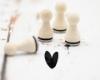 Motivstempel, 15mm, Herzumschlag