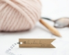 "Motivstempel ""handmade WITH LOVE"", selbstgemachtes"