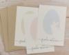 Kartenset Ostergrüße, 10 Osterkarten in verschiedenen Farben, inkl. Umschlag