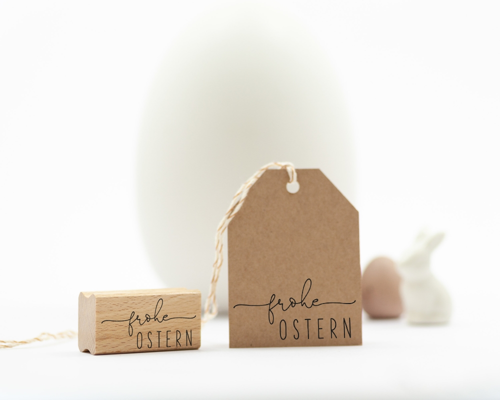 "Picture of Motivstempel  ""frohe Ostern"""
