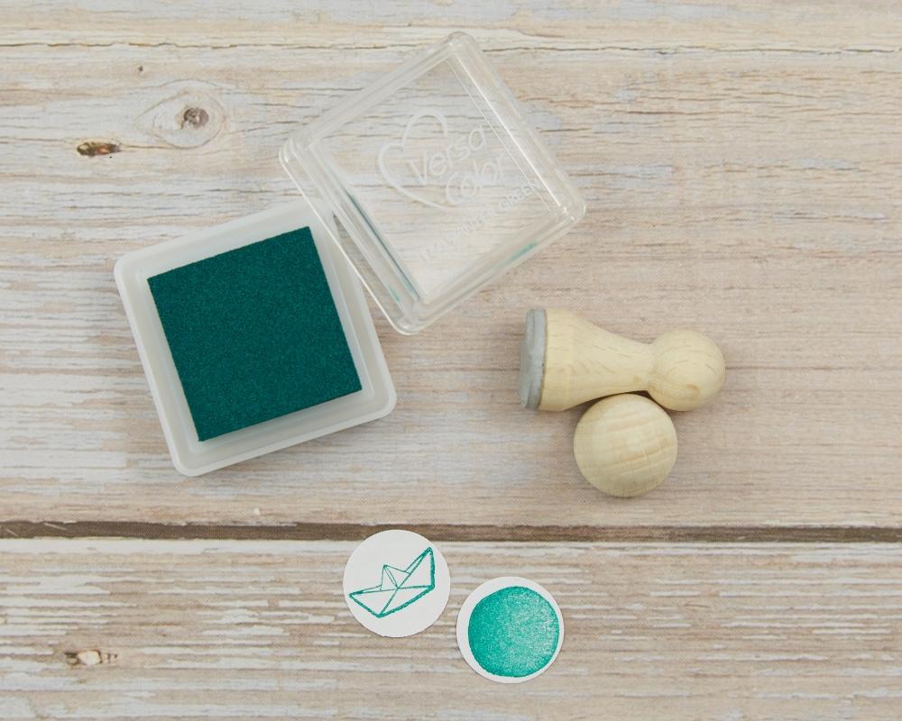 """Ministempelkissen """"Winter green"""" von Versacolor, Farbnummer 160"""