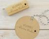 Motivstempel, Holz, rechteckig, Willkommen Baby