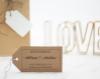 "Adress-Stempel, Holzstempel, Hochzeit, 55 x 40 mm, Motiv ""Glücksburg"", personalisiert"