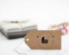 Geburtsstempel personalisiert, Holzstempel, Motiv Kinderwagen