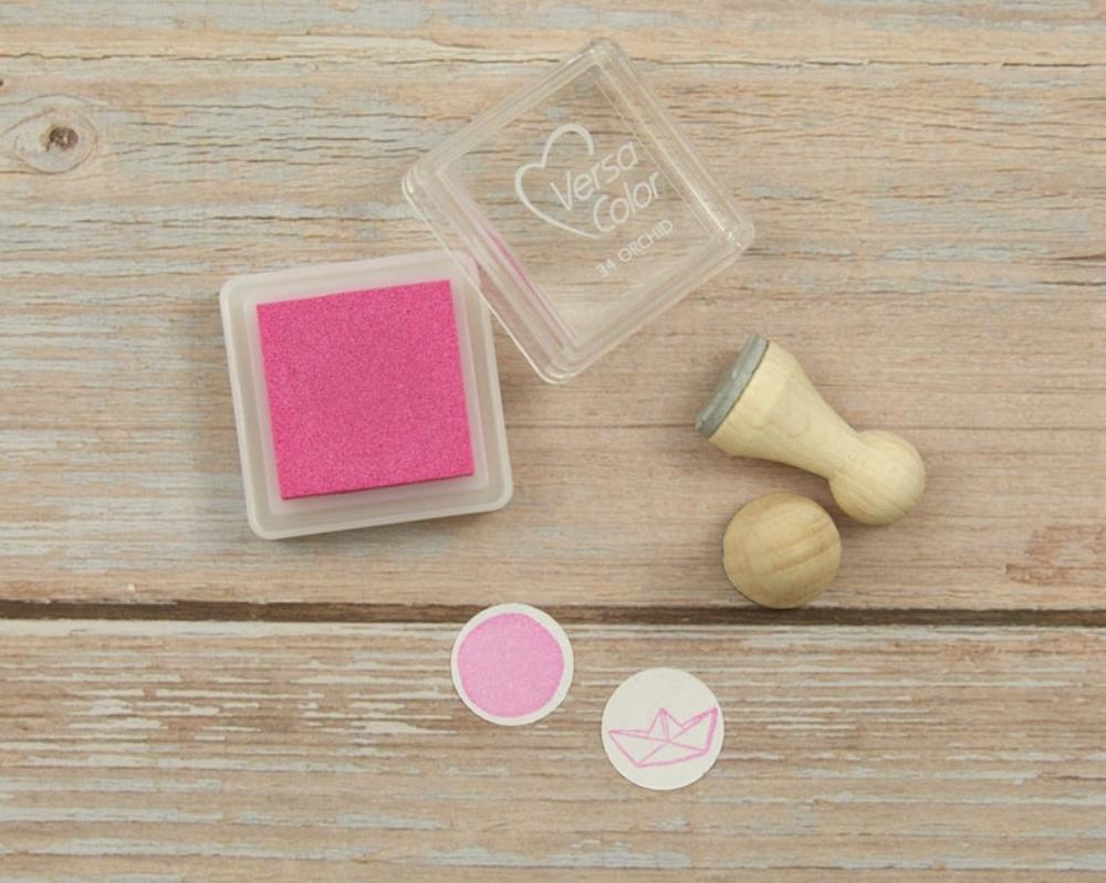 Ministempelkissen, pink, Mini