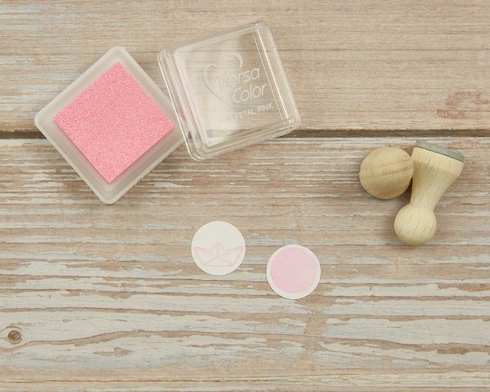 Ministempelkissen, petal pink, helles rosa