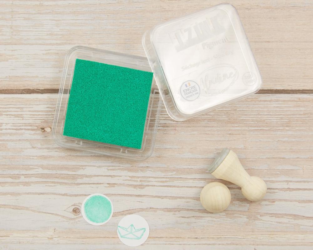 "Picture of Stempelkissen Hellgrün // Pigment Ink Pad Aladine iZink ""Light Green"""
