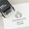 """Selbstfärbender Adressstempel """"Hausach"""" - Trodat Printy 4924"""