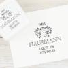 """Selbstfärbender Adressstempel """"Hausach"""" - Melon 6"""