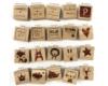 Holzwürfel personalisiert mit Gravur - Geschenkidee Baby