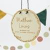 Personalisierbare Geschenkidee - Namensschild Kinderzimmer mit Blumenkranz