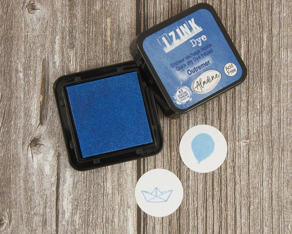 Stempelkissen, hellblau, iZink Dye