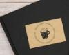 Personalisierter Ex Libris Stempel mit hübschem Tassenmotiv, individuell & persönlich